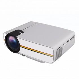 Proyektor Mini LCD 800 x 480 Pixel 1200 Lumens - YG400 - White - 3