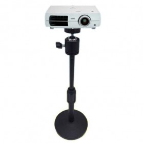 Stand Mini Proyektor Portable dengan Ball Head - H120 - Black