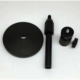 Stand Mini Proyektor Portable dengan Ball Head - H120 - Black - 2