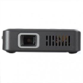 Mini Projector with MicroSD Port 854 x 480px 3000mAh- ML30 - Black - 2