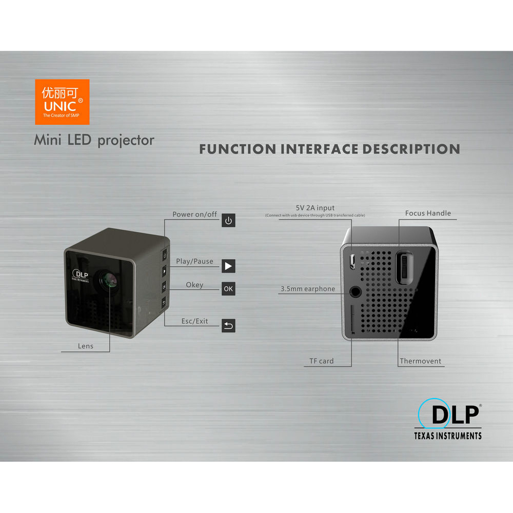 Harga Jual Proyektor Mini Unic Byintek Ml218 New Home Theater Led Projector Uc28 400 Lumens Portable Uc 28 Plus P1 Wifi Dlp 640p 30