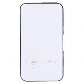 Smart WiFi DLP Proyektor Android 8GB 480P 1000 Lumens - Black White