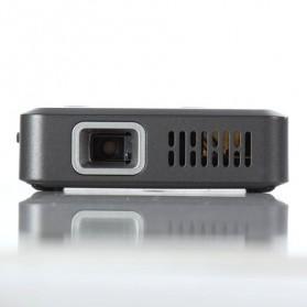Smart DLP Proyektor Mini Portable 480P 80 Lumens - Black