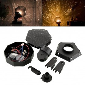 DIY Proyektor Lampu LED Astro Star - Black