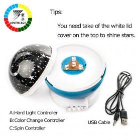 Proyektor Lampu LED Sphere - Blue - 3
