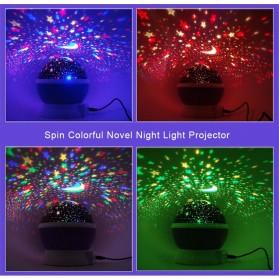 Proyektor Lampu LED Sphere - Blue - 7