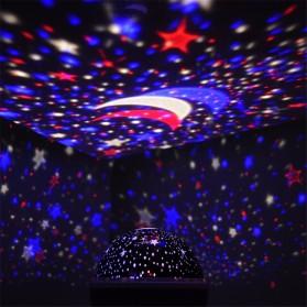 Proyektor Lampu LED Sphere - Blue - 9