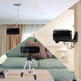 Everycom X7 Proyektor Mini LED 1800 Lumens 1080P with TV Receiver - Black - 2