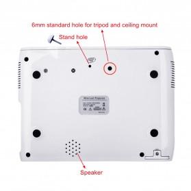 Everycom X7 Proyektor Mini LED 1800 Lumens 1080P with TV Receiver - Black - 4