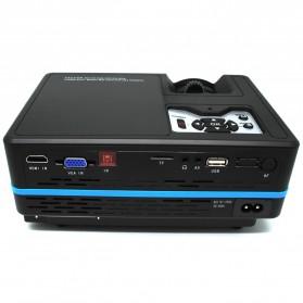 LED Proyektor dengan Ragam Interface 1080P - A313 - Black - 2