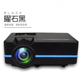 LED Proyektor dengan Ragam Interface 1080P - A313 - Black - 3