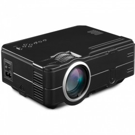 Mini Proyektor 480p 1500 Lumens - 812 - Black