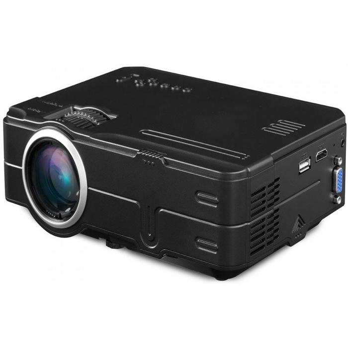 ... Mini Proyektor 480p 1500 Lumens - 812 - Black - 2 ...