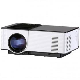 Proyektor Mini Portabel AC3 Dolby Sound 800P 1500 Lumens - VS314 - Black