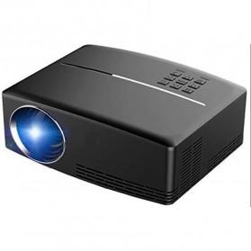 Proyektor Portabel 800P 1800 Lumens - GP80 - Black