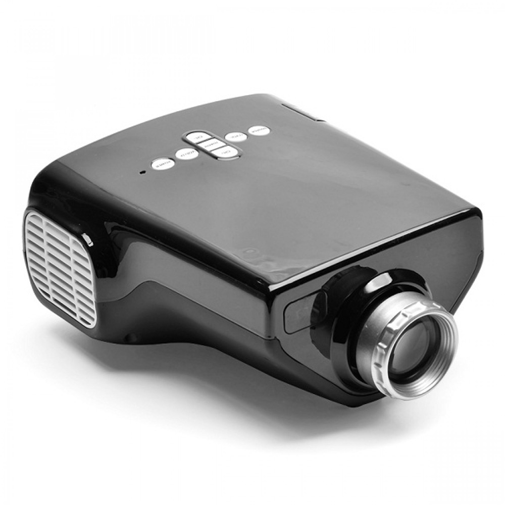 Portable Led Projector 50 Ansi Lumens Multiple Interface
