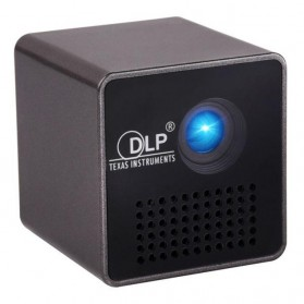 Projector / Proyektor Display - UNIC P1 DLP Proyektor Mini 640P 30 Lumens - Black