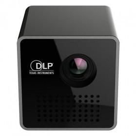 UNIC P1+ WiFi DLP Proyektor Mini 640P 30 Lumens - Black - 1