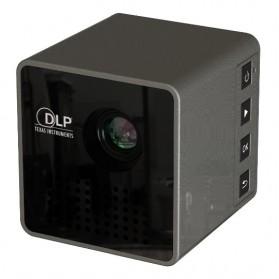 UNIC P1+ WiFi DLP Proyektor Mini 640P 30 Lumens - Black - 2