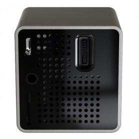 UNIC P1+ WiFi DLP Proyektor Mini 640P 30 Lumens - Black - 3