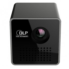 UNIC P1+ WiFi DLP Proyektor Mini 640P 30 Lumens - Black - 4