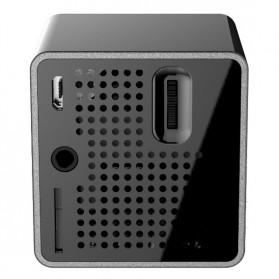 UNIC P1+ WiFi DLP Proyektor Mini 640P 30 Lumens - Black - 5
