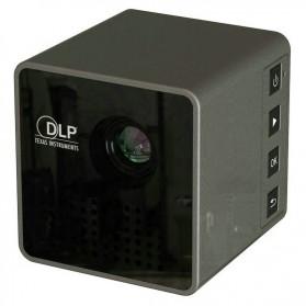 UNIC P1+ WiFi DLP Proyektor Mini 640P 30 Lumens - Black - 6