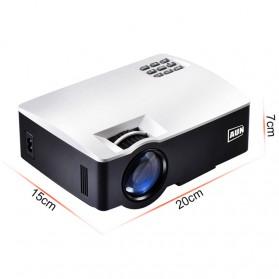AUN AKEY1 Proyektor 1080P 1800 Lumens - White - 6