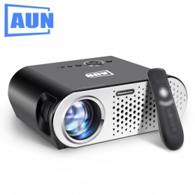 Projector / Proyektor Display - AUN Proyektor Android 1280 x 768 Pixel 3200 Lumens - T90S (backup) - Black