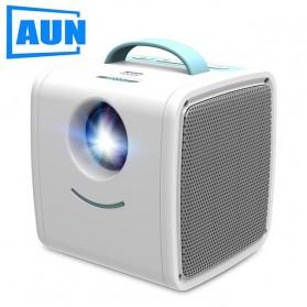 AUN Proyektor Mini Khusus Anak 320P 700 Lumens - Q2 - White - 5