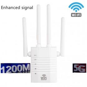 Vwinget Wireless WiFi Range Extender Amplifier Booster 802.11AC 1200Mbps - WR104 - White