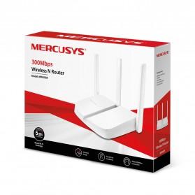 Mercusys Wireless WiFi dan Router Range Extender Amplifier 300Mbps - MW305R - White - 5