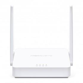 Laptop / Notebook - Mercusys Wireless WiFi dan Router Range Extender Amplifier 300Mbps - MW302R - White