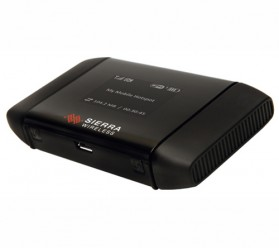 Sierra Wireless AirCard 754S Mobile Hotspot - 4G LTE 100 Mbps - Black - 2
