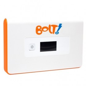 BOLT! Huawei Mobile WiFi Orion - Super 4G LTE 100 Mbps + Kartu Perdana 8GB - White