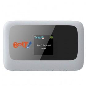 BOLT! Hydra ZTE-MF910 Mobile Hotspot Wifi - Super 4G LTE 72 Mbps + Kartu Perdana 8GB - White