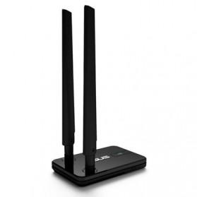 Asus Wireless N300 USB Adapter Dual 5dbi Detachable Antenna - USB-N14 - Black - 4