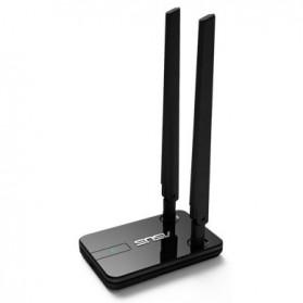 Asus Wireless N300 USB Adapter Dual 5dbi Detachable Antenna - USB-N14 - Black - 5