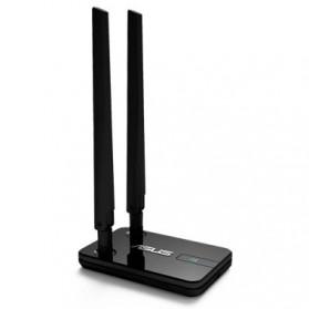Asus Wireless N300 USB Adapter Dual 5dbi Detachable Antenna - USB-N14 - Black - 6