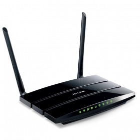 TP-LINK 300Mbps Wireless Router - TD-W8970 - Black - 1