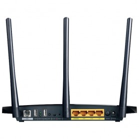 TP-LINK 300Mbps Wireless Router - TD-W8970 - Black - 3