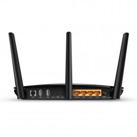 TP-LINK AC1200 Wireless Gigabit ADSL2+ Modem Router - Archer D5 - Black - 3