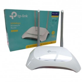 TP-LINK 300Mbps Wireless Router - EN020-F5 - White - 7