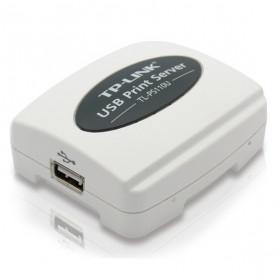 TP-LINK Single USB2.0 Port Fast Ethernet Print Server IPP - TL-PS110U - White - 4