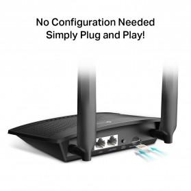 TP-LINK 300Mbps Wireless N 4G LTE Router - TL-MR100 - Black - 3