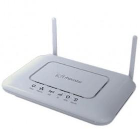Movistar ASL 26555 OpenWRT ADSL + Network Storage + 3G Wireless Router + WiFi Hotspot - White