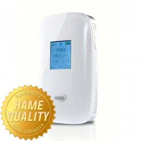 Hame S1 Portable 3G Wireless Router & Mobile Power Bank 5200mAh - White