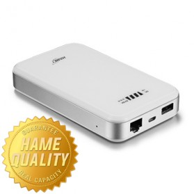 Hame F2 - 3G Mobile Power Router + Power Bank 10000mAh - Hame HM-F2 - White