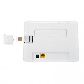 Huawei 4G Wireless Router Broadband WiFi - b311as-853 - White - 3