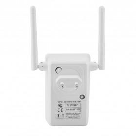 Wireless WiFi Range Extender Amplifier 300Mbps - White - 5